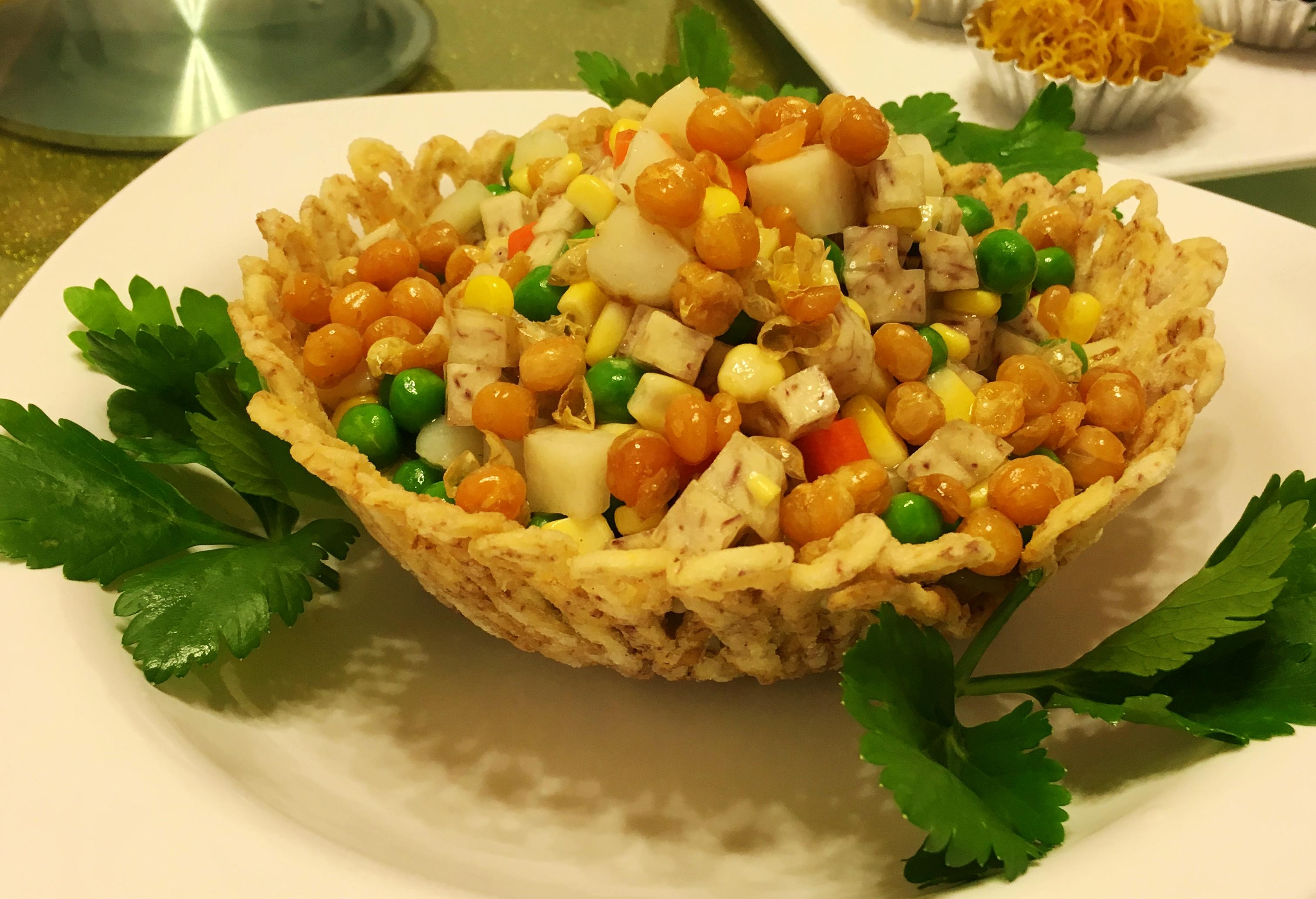 美味素食:五色素餐,对付夏季便秘上火(2)——广州素食学校