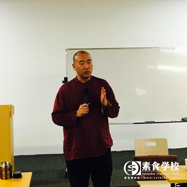 傅昌,素食学校