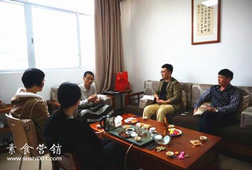 刘小炮做客素食学校