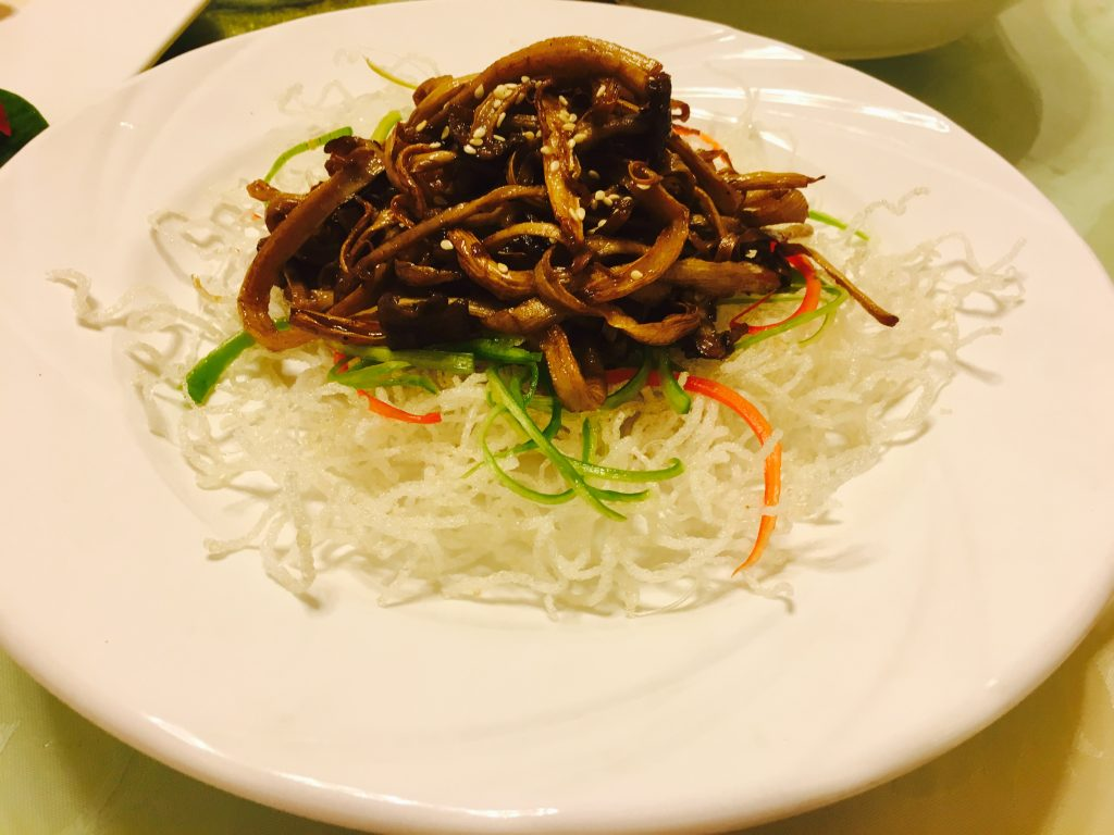 美极茶树菇素食菜谱