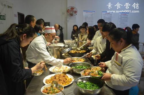 广州素食学校自助餐
