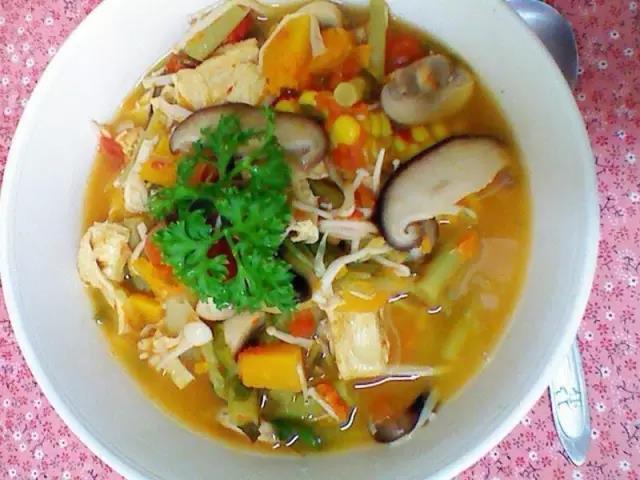 素食蔬菜汤