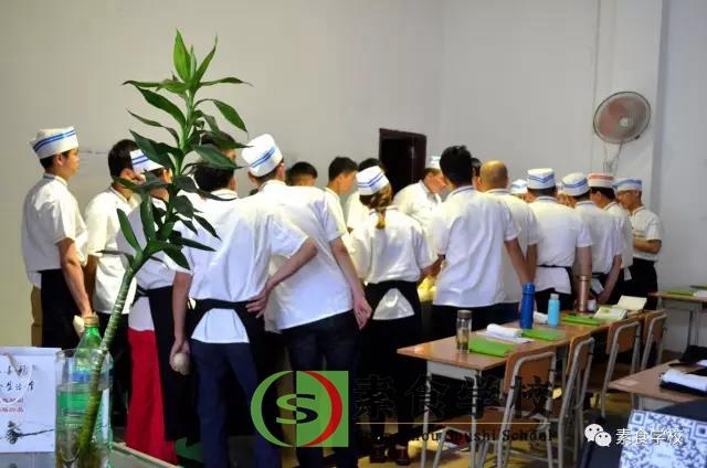 广州素食学校第五期素食厨艺基础班学员学习展示