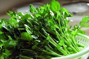 【四季素食菜谱】冬季之西洋菜香菇汤