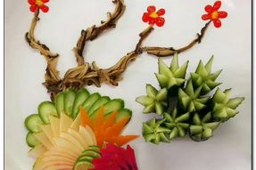 关于摆盘的构造法(4)——广州素食学校