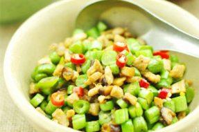 【素食菜谱】家常素菜谱之素肉末豆角