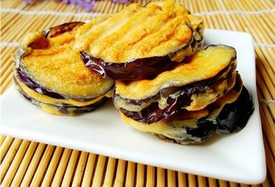 【素食菜谱】家常素菜谱之香煎茄饼