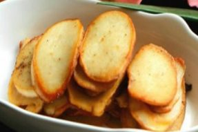 【素食菜谱】家常素菜谱之橄榄油干煎杏鲍菇