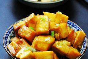 【素食菜谱】家常素菜谱之红烧白灵菇