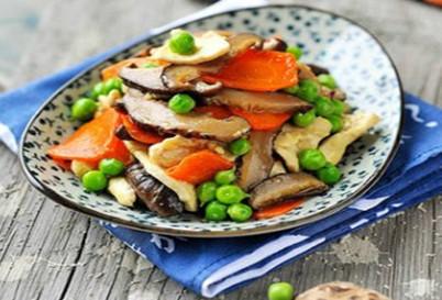 【素食菜谱】家常素菜谱之香菇素鸡片