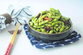 【素食菜谱】经典夏季素食食材出品之爽口煮毛豆