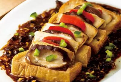 【素食菜谱】家常素食菜品之豆豉蒸鲍菇