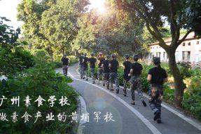 这位川菜名师点赞说:广州素食学校是人间菩萨成长的地方,是培养素食军官的摇篮