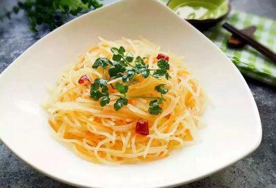 【清凉一夏】素食菜谱之炝拌土豆丝