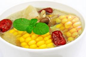 【素食菜谱】家常素食菜谱之山药玉米煲牛蒡
