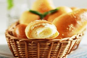【素食菜谱】素食西点之清香橙皮面包