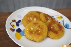 香煎蕃薯餅——广州素食学校