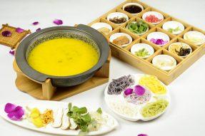 【校企风采】米道原素——菌汤鲜花过桥米线–广州素食学校