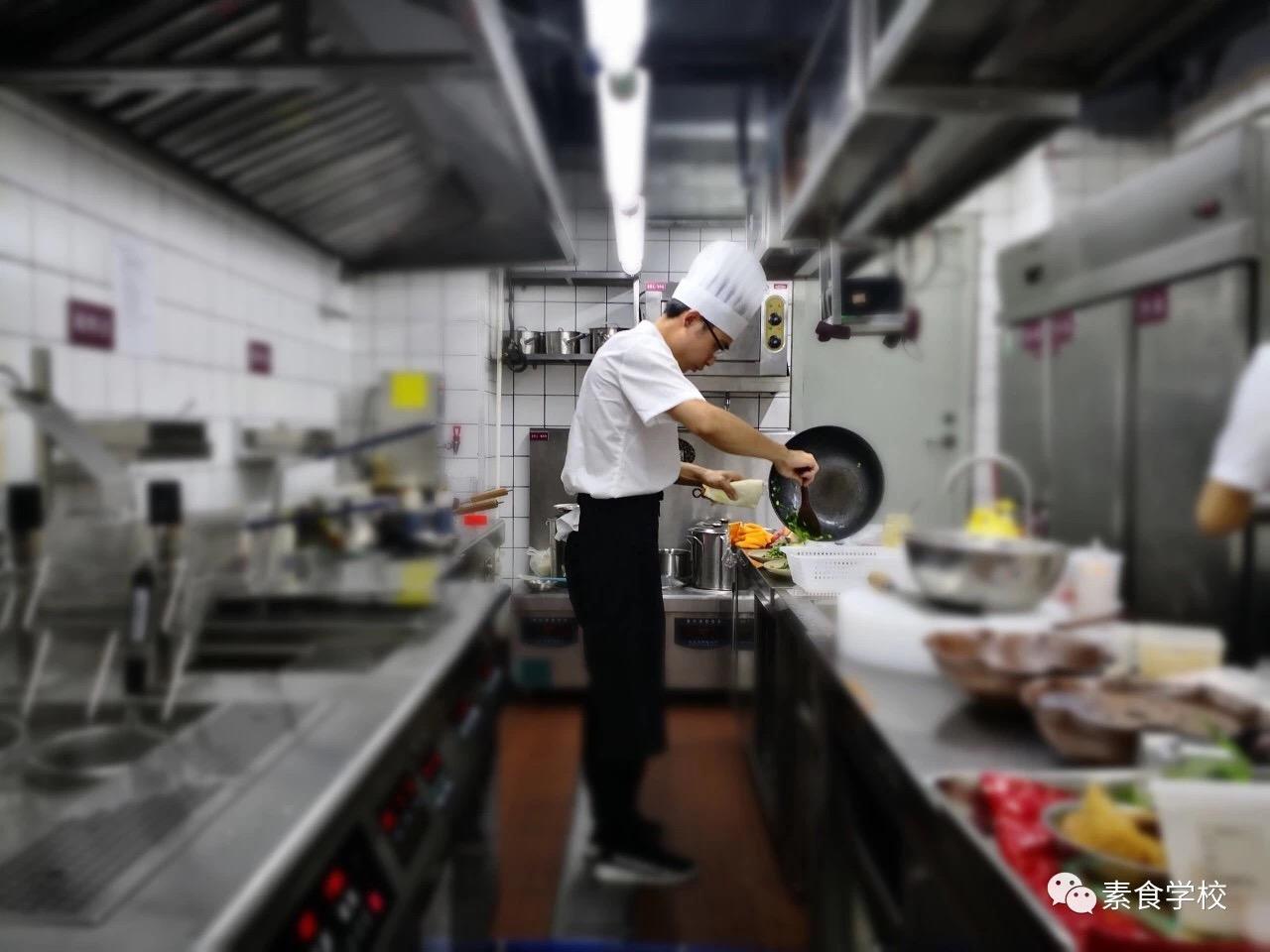 只要3天时间,素食厨师长班助你升职加薪!
