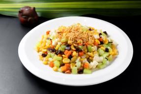 素食菜谱|罗汉斋