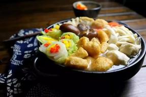 【健康养生素食菜谱】团圆素暖锅