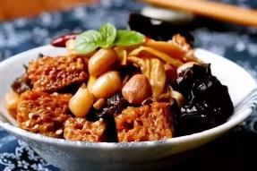 【健康养生素食菜谱】五香烤麸