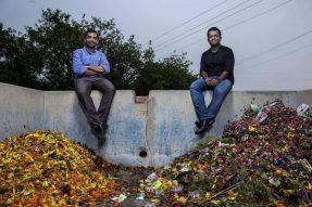 寺庙花朵变成纯素皮革!此项专利获联合国永续奖,为1200个家庭提供生计!