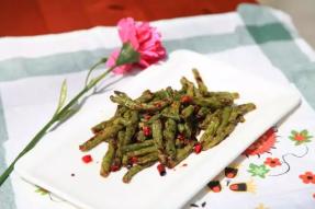 【素食菜谱】四季如春——干煸四季豆