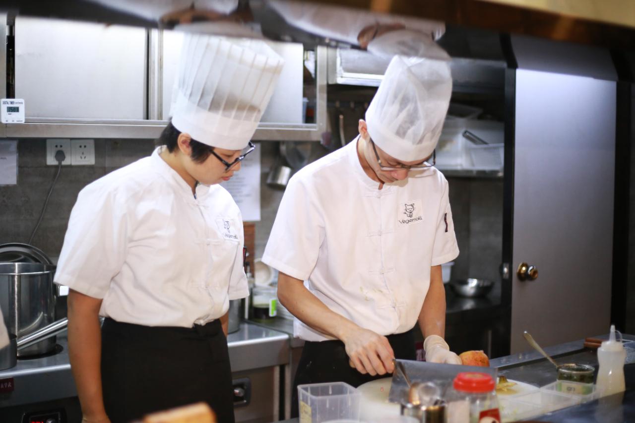 5月13日素食厨师班
