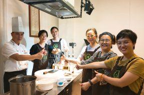 教学回顾|来素食学校学习和品鉴素菜,可列为人生十大幸福瞬间!